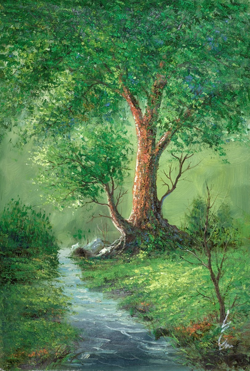 The Old Tree I by Inam -  sized 36x52 inches. Available from Whitewall Galleries